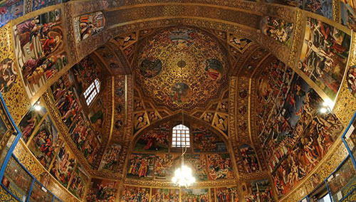 Vank-cathedral-church-Isfahan-tours