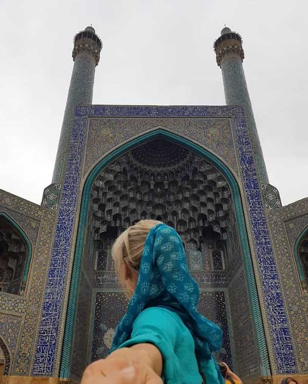 isfahan mosque exploration
