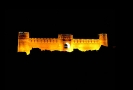 Rayen castle at night
