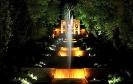 Shahzadeh garden at night
