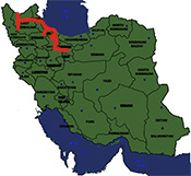 thumb map-Iran-north-northwest-tour