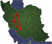 salam-Iran-trip-map